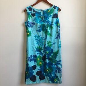 Vintage 60s Hawaiian Togs Shift Dress